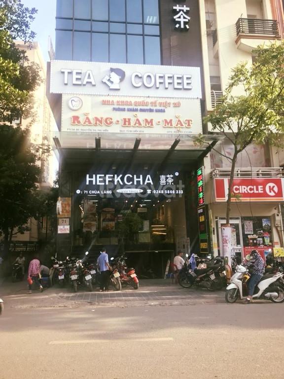 Cho thuê văn phòng 50-80m2 chùa Láng giá thuê 22tr/th