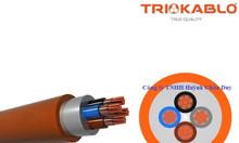 Cáp tín hiệu chống cháy của Trio Kablo/Turkey 1.0mm2, 1.5mm2, 2.5mm2