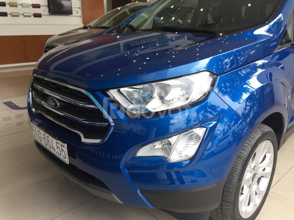 Ford Ecosport Titanium - An toàn, tiện nghi, êm dịu