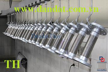 Mục đích:khớp nối mềm giảm chấn inox-khớp nối mềm chống rung inox.