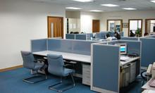 Sản xuất thi công vách ngăn bàn nhân viên