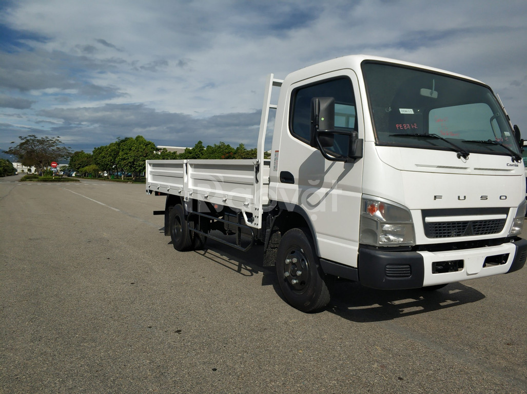 Xe tải mitsubishi fuso canter 4.99 thùng lửng