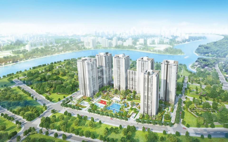 Dự án căn hộ Saigon South Residences Nhà Bè chủ đầu tư Phú Mỹ Hưng