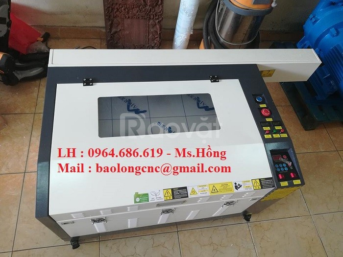 Máy khắc laser 6040, máy laser 6040 khắc gỗ, mica cho ngành quà tặng