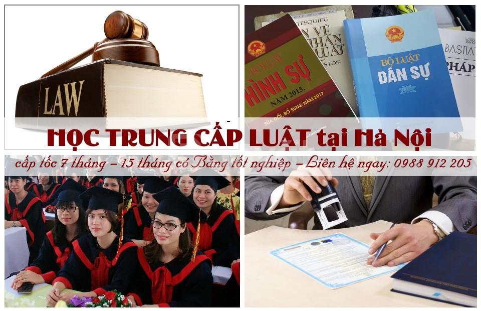 Trung cấp Luật Hà Nội khai giảng khóa học chính quy năm 2019