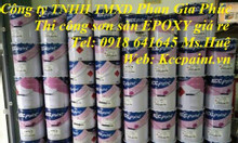 Epoxy kcc Ut5015 màu 9000 trong suốt chống trầy phủ bóng giá rẻ