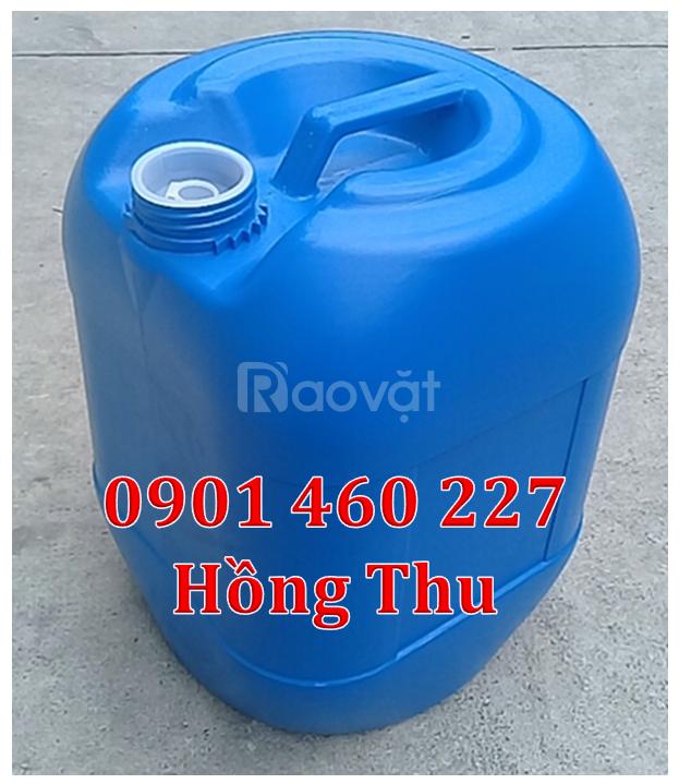 Gía can nhựa 20 lít, can nhựa mới 20 lít can hoá chất 20 lít nhựa HDPE