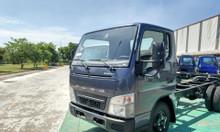 Xe tải thaco Mitsubishi fuso canter 4.99 tải trọng 2,1 tấn Chassi Xanh
