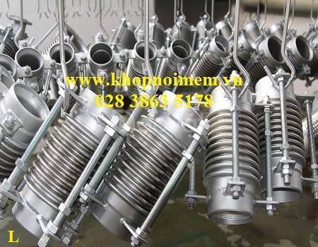 Ống chống rung - khớp nối chống rung inox (có thể gia công theo mẫu) (ảnh 8)