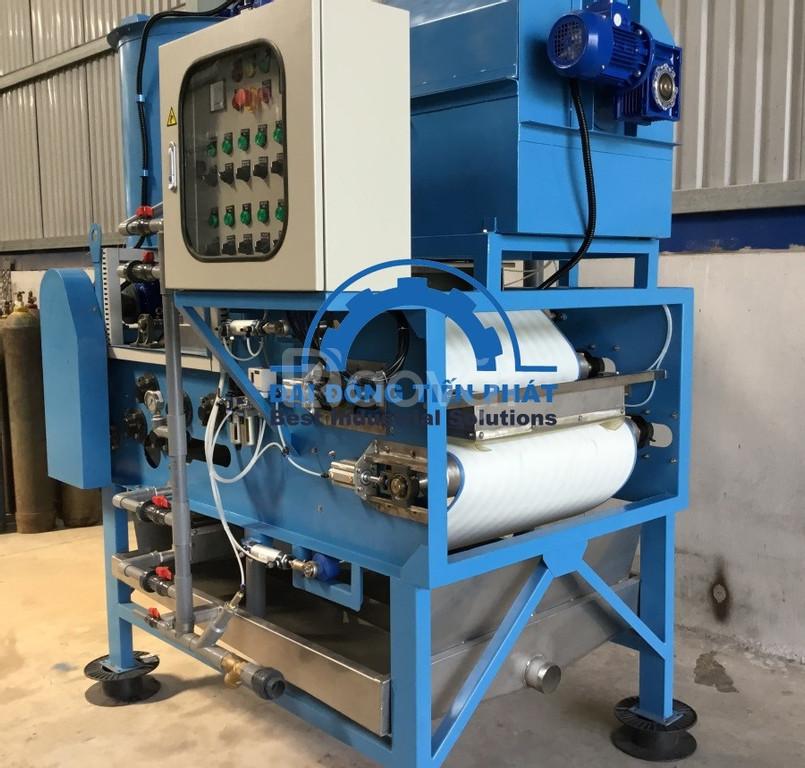 Máy ép bùn băng tải xử lý nước thải