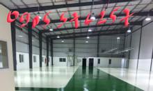 Thi công sơn epoxy sàn công nghiệp