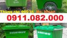 Cần xả kho giá rẻ thùng rác nhựa- thùng rác 120 lít 240 lít (ảnh 4)