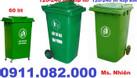 Cần xả kho giá rẻ thùng rác nhựa- thùng rác 120 lít 240 lít (ảnh 1)