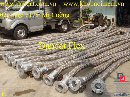 Ống chống rung - khớp nối chống rung inox (có thể gia công theo mẫu) (ảnh 6)