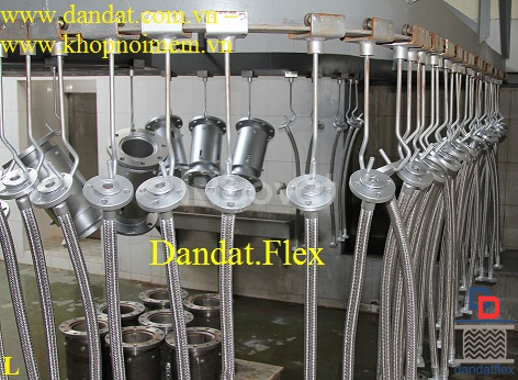Ống chống rung - khớp nối chống rung inox (có thể gia công theo mẫu) (ảnh 7)