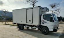 Xe tải đông lạnh Mitsubishi Canter4.99 hỗ trợ trả góp 80%