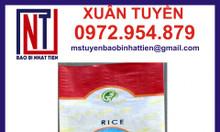 Bao dệt đựng gạo, bao pp đựng gạo