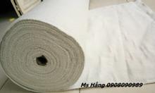 Vải ceramic chống cháy 1260 độ C, có sợi thép mỏng bên trong