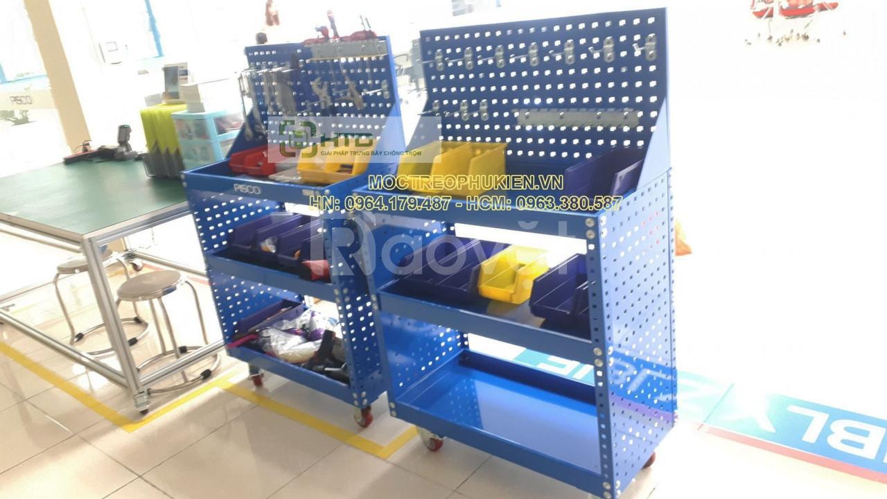 Bảng treo dụng cụ chuyên dụng cho gara, xưởng sửa chữa