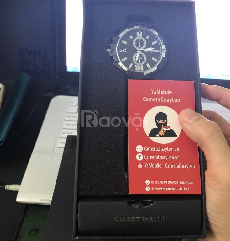 Camera quay lén đồng hồ đeo tay kết nối điện thoại ip wifi