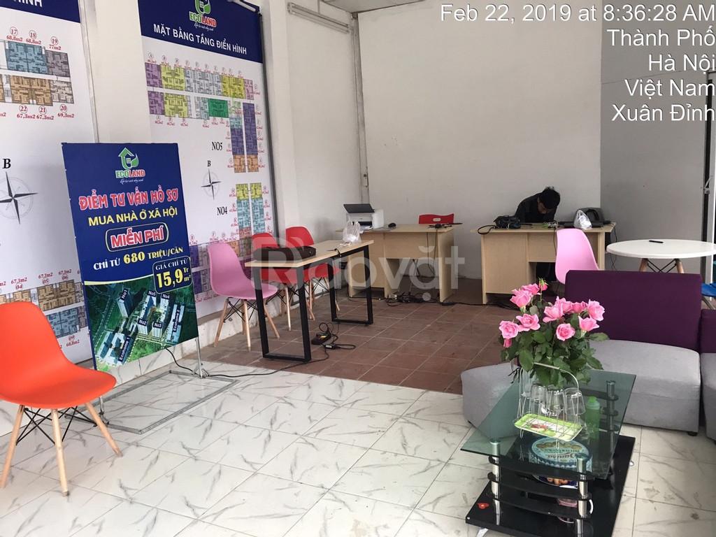 Cho thuê văn phòng 45m2  Tân Xuân - Xuân Đỉnh - Bắc Từ Liêm giá 13tr