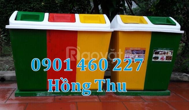 Thùng rác 60 lít giá bao nhiêu tại TPHCM