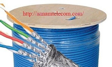 Cáp mạng Cat7 SSTP lưới thép bọc bạc