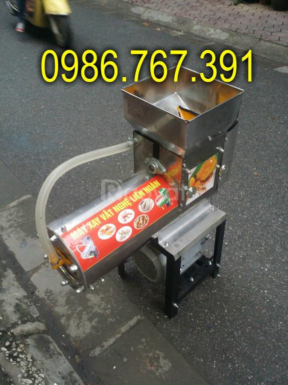 Máy xay nghệ, máy nghiền vắt nghệ tươi 150kg/h