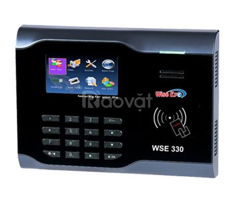 Máy chấm công thẻ từ Wise eye WSE330 dành cho xưởng gổ tốt