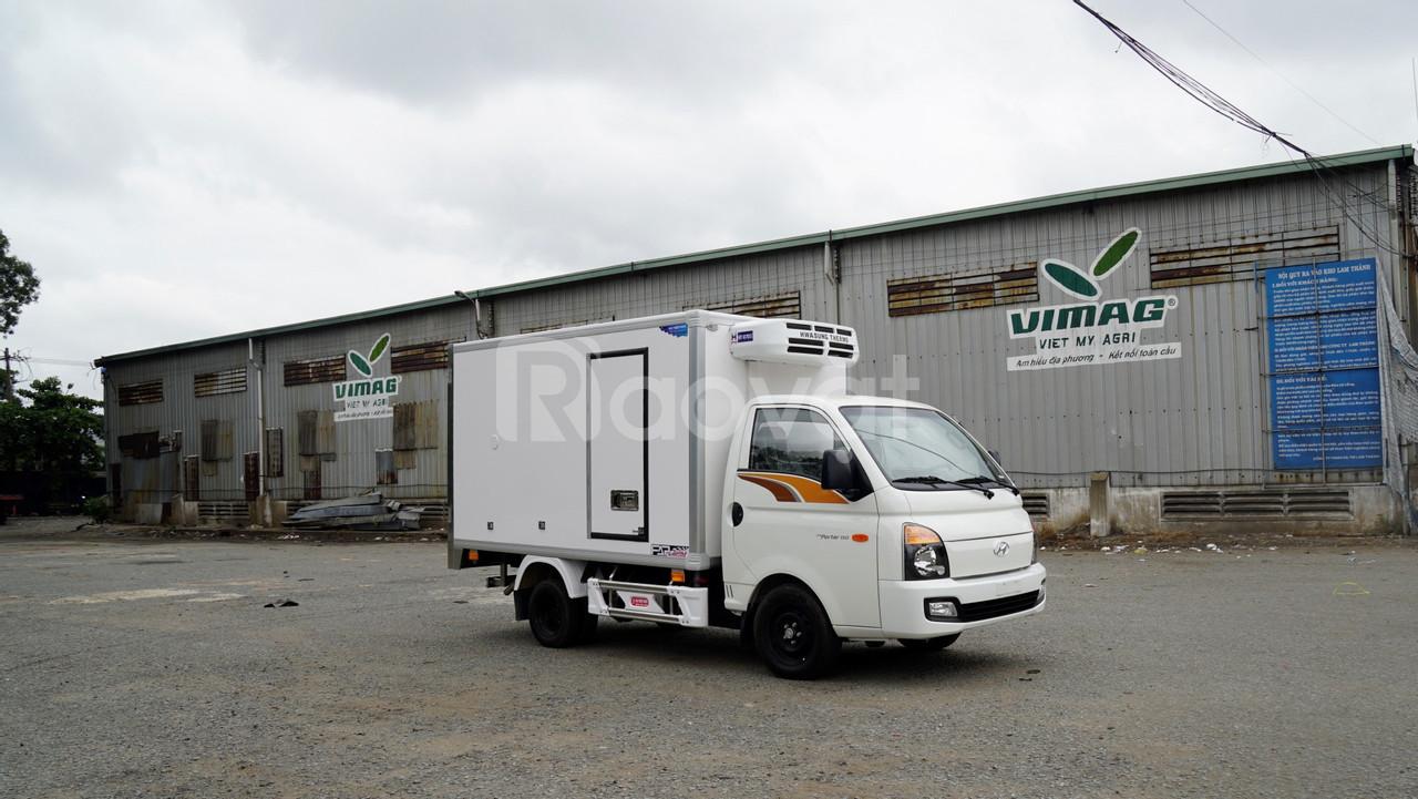 Bán xe hyundai porter 150 1T đông lạnh, giá rẻ, có sẵn trả trước 120tr