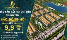 Đặt chỗ nhanh đất nền dự án Golden Lake Quảng Bình - 9,9tr/m2