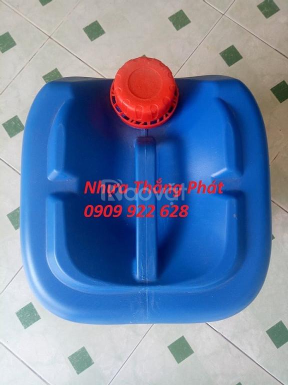 Can nhựa 20l, can đựng hoá chất 20l
