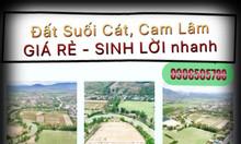 Mở bán đất ven sông Suối Cát, Cam Lâm, Khánh Hòa chỉ 300tr/lô