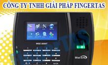 Phân phối máy chấm công vân tay thẻ cảm ứng 8000t hàng mới 100%