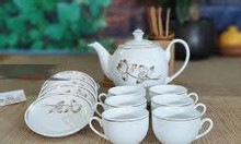 Cung cấp bộ ấm trà in logo giá tốt tại Quảng Nam