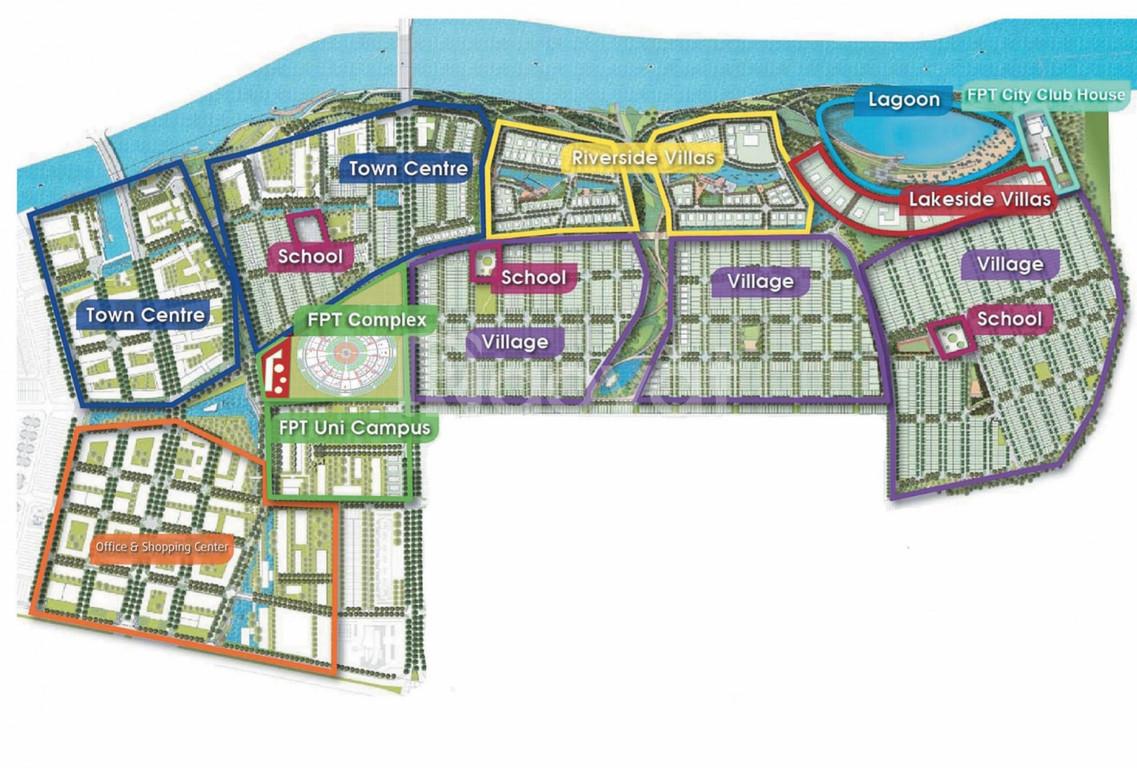Giá 28 tr/m2 - KDT xanh FPT City - ven biển Đà Nẵng