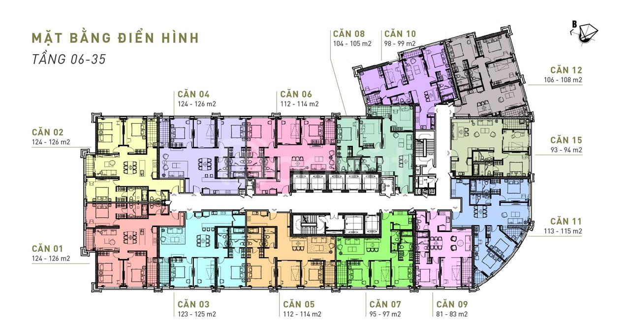 Tiện nghi bất ngờ tại  chung cư cao cấp King Palace