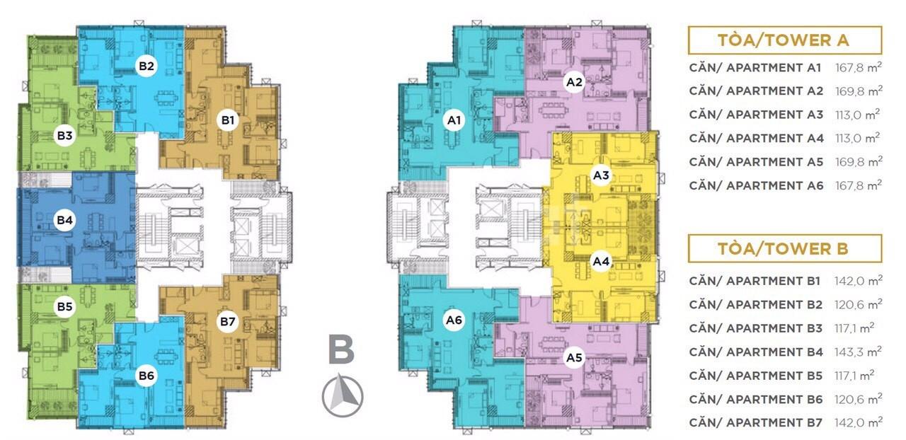 Dát vàng nội thất cao cấp, Sunshine Center giá ưu đãi 6,7 tỷ