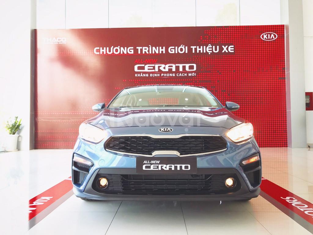 Kia Cerato ưu đãi đến 30 triệu, trả trước 160tr giao xe, lãi suất thấp