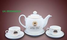 Bạn cần tìm xưởng in bộ ấm trà, in logo bộ ấm trà làm quà tặng tại ĐN