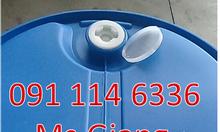 Thùng phuy sắt 220 lít nắp kín, thùng phuy nhựa nắp hở 120 lít quận 10