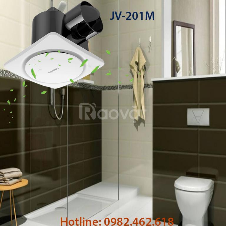 Chọn quạt hút âm trần cho nhà vệ sinh sang chảnh