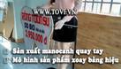 Manocanh robot xoay bảng hiệu quảng cáo - tại TPHCM (ảnh 9)