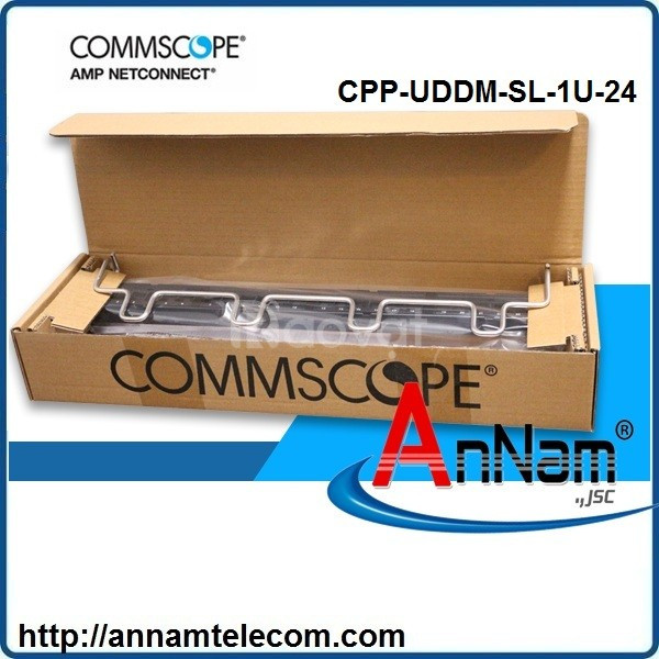 Thanh đấu nối patch panel 24 cổng UTP 1U cpp-uddm-sl-1u-24 760237040