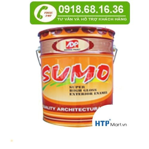 Sơn dầu Sumo - Á Đông giá rẻ - Đại lý sơn dầu Sumo Á Đông giá rẻ