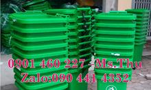 Thùng rác nhựa 60 lít, thùng rác treo đơn 80 lít, thùng rác 90 lít