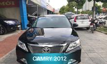 Toyota Camry 2.5Q, sx 2012, màu đen