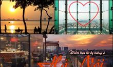 Note liền tay 7 địa điểm siêu lãng mạn dành cho các cặp đôi ở Hà Nội