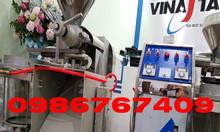 Máy ép dầu lạc kinh doanh 12-15kg/h kèm bình lọc