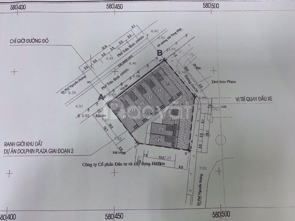 Bán nhà mặt phố Trần Bình diện tích 107m2